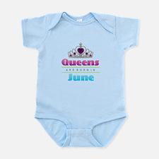 Queens are Born In June Body Suit