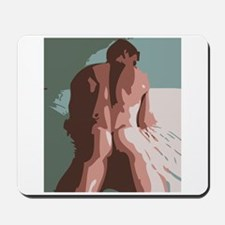 Brent - Nude Male Mousepad
