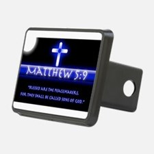 Blessed Are the PeaceMaker Hitch Cover