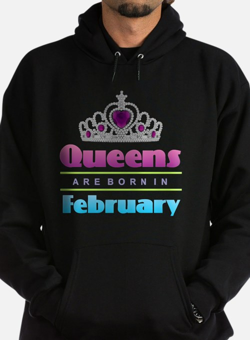 Queens are Born In February Sweatshirt