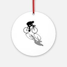 Cycling Bike Round Ornament