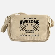 This is what an Muay Thai Fighter lo Messenger Bag
