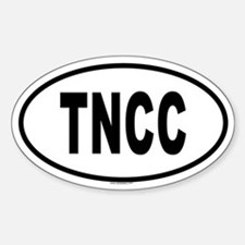 TNCC Oval Decal