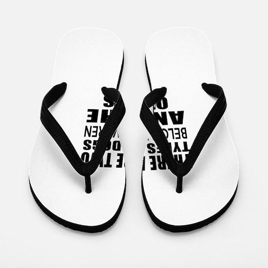 There Are Two Types Of Belgian Tervuren Flip Flops