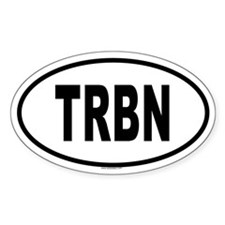 TRBN Oval Decal