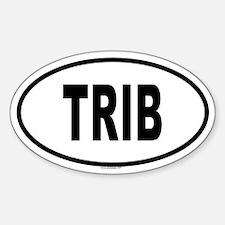 TRIB Oval Decal