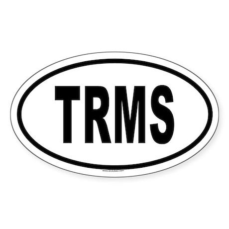 TRMS Oval Sticker