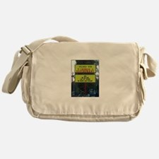 WICKED WOK - CHINESE RESTAURANT SIGN Messenger Bag