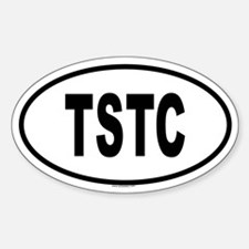 TSTC Oval Decal