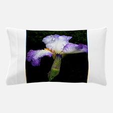 Purple iris, art, photo Pillow Case