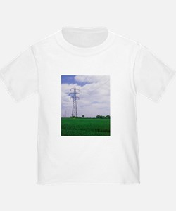 Electricity pylons T-Shirt