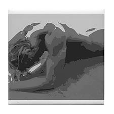 Magnus - Nude Male Tile Coaster