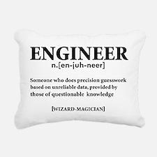 ENGINEER NOUN Rectangular Canvas Pillow