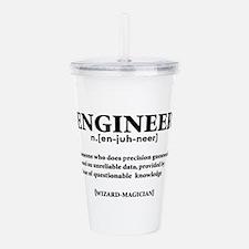 ENGINEER NOUN Acrylic Double-wall Tumbler
