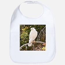 White red tail hawk Baby Bib