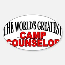 """The World's Greatest Camp Counselor"" Decal"