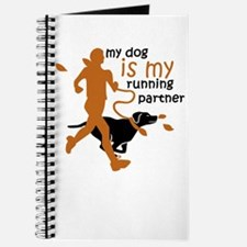 my dog is my running partner Journal