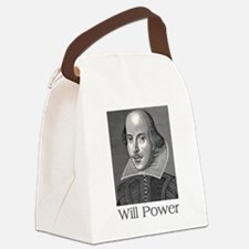 Shakespeare Will Power Gifts Canvas Lunch Bag