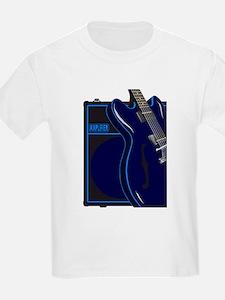 Blues Guitar And Amplifier T-Shirt