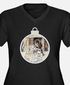 God Bless Us Every One! Plus Size T-Shirt