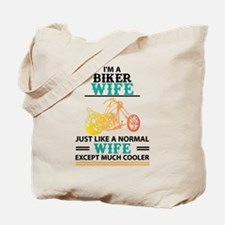 Biker Wife... Tote Bag
