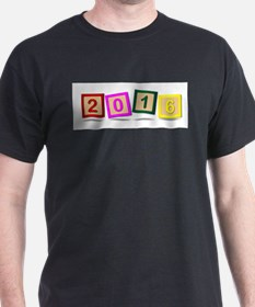 2016 Number Blocks T-Shirt