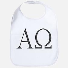 Alpha Omega Baby Bib