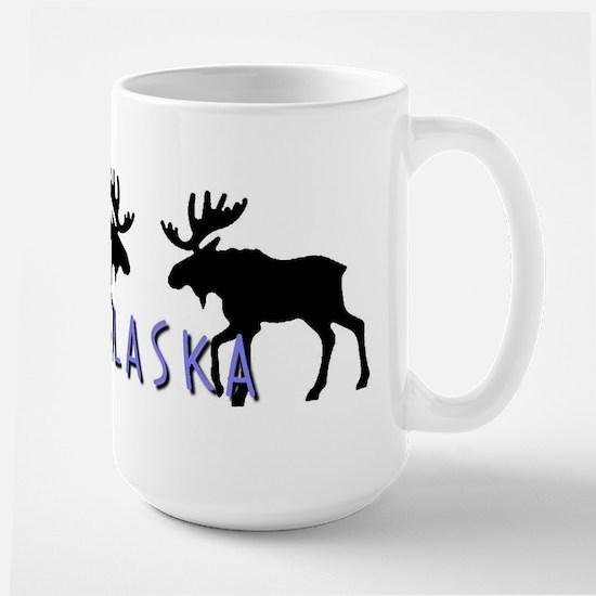 moose silhouette6 Mugs