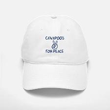 Cavapoos for Peace Baseball Baseball Cap