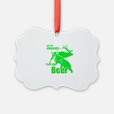 Elkaholic beer Ornament