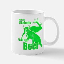Elkaholic beer Mug