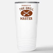 Property Of Grill Maste Travel Mug