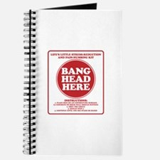 Bang Head Here Stress Reduction Kit Journal