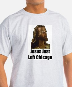Jesus Just Left Chicago w/Lyric T-Shirt