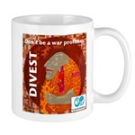Divest from weapons dealers Mugs