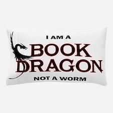 Cute Bookworm Pillow Case