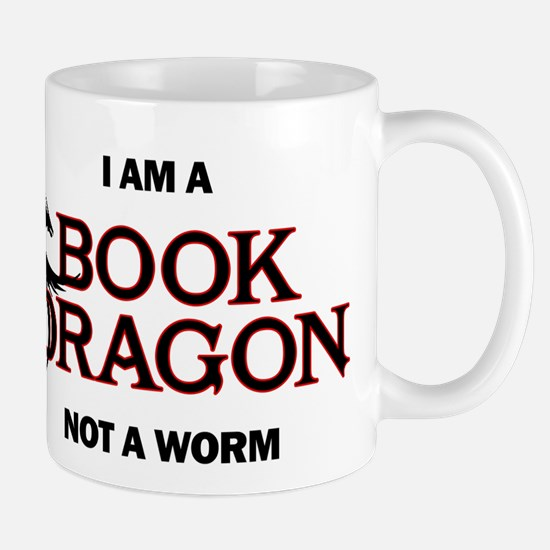 I am a Book Dragon Mugs
