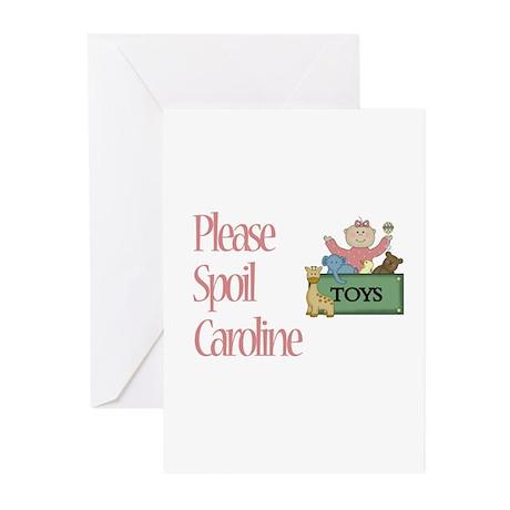 Please Spoil Caroline Greeting Cards (Pk of 10)