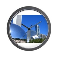 Millenium Park Wall Clock