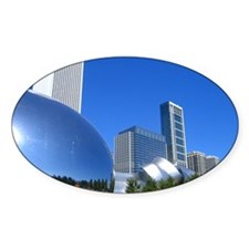 Millenium Park Oval Decal