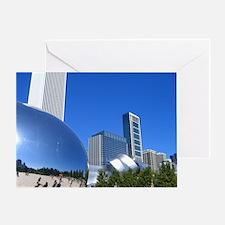Millenium Park Greeting Card