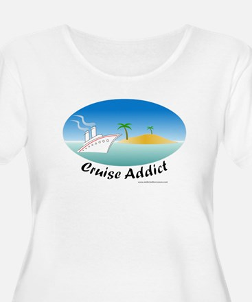 Cruise Addict Plus Size T-Shirt