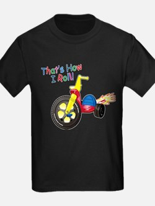 Big Wheel Kid's T-Shirt