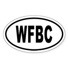 WFBC Oval Decal