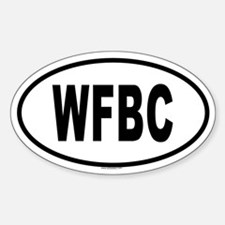 WFBC Oval Decal