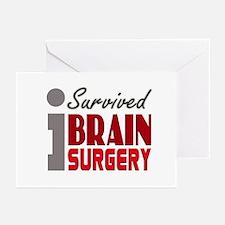 Brain Surgery Survivor Greeting Cards