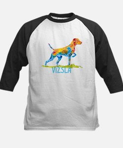 Vizsla on Point Gifts Baseball Jersey