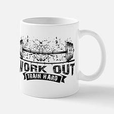 Work Out Train Hard Mugs
