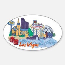 Las Vegas Travel Poster Decal