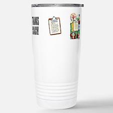 Unique Thanks Travel Mug